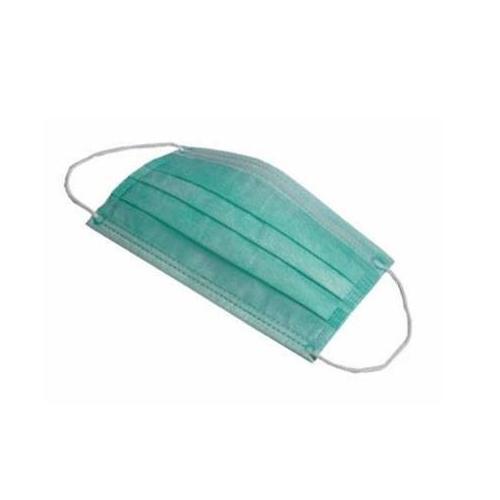 NovahDent - 3ply non woven ear-loop face mask Green  500x500
