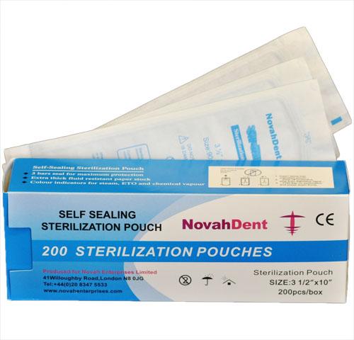 NovahDent - Sterilisation Pouch 90x255mm 2