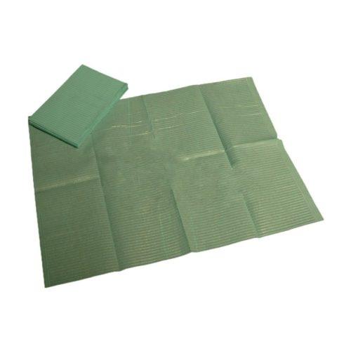 DEHP Disposable Patient Bibs (Green)